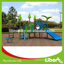 Cheap Children Plastic Game Playground From China LE.ZI.003