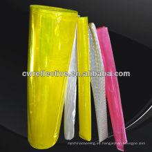 Película reflectante de alta calidad de seguridad y protección / Fábrica reflectante de la cinta / Hoja reflexiva del PVC
