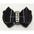Butterfly Design Chaussures Accessoires, acrylique Rhinestone Buckle