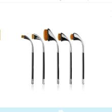 9PCS Oval Makeup Brushes Golf Professional Cosmetic Brush Set