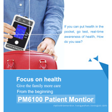 2.4 Inch 6 Parameter Handheld Patient Monitor with New Interface