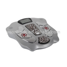 Electronic acupuncture LCD display far infrared physiotherapy foot massager
