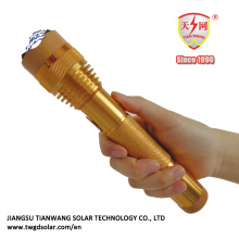Electric Shock Police Flashlight with Mobile Power Supply