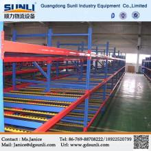 Промышленная упаковка потока системы тяжести прокатки склад стеллажной системы