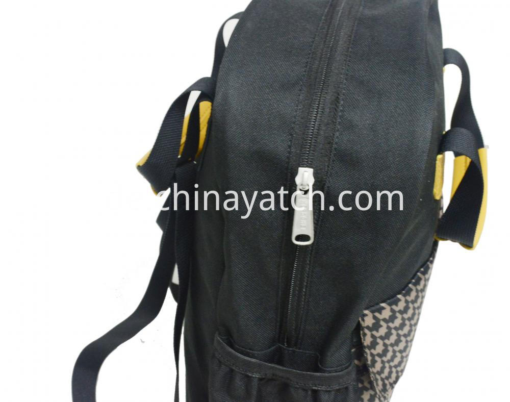 Backpack With Leather Handle