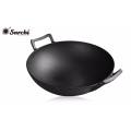 Ebay vente en gros wok en fonte avec LFGB FDA SGS