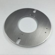 Precision Brushed Aluminum Parts