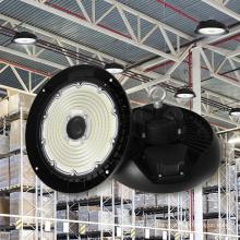 5 Years Warranty 170Lm/W Ip65 Ik09 UFO Led High Bay Light 200W 34000Lm For Warehouse