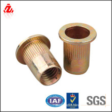 high quality brass countersunk nut