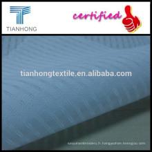 Plaine de terylen & coton tissage tissu/mince tissu de vêtement /summer dobby tissu