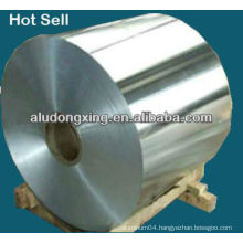Aluminum alloy foil for electric radiator