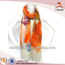 HOT Promotional Hand painted soft cashmere scarf