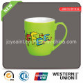 New Arrived Color Decal Coffee Mug (JSD115-SY-014)
