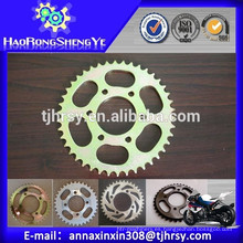 Conjunto de piñón y cadena de motocicletas (venta directa de fábrica)