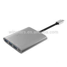 Type-C USB 3.1 HUB 3 ports with Power Delivery