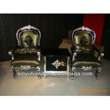 Деревянный стул и стол для подлокотника XYD113