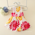 2016 die neue Kinder Kleidung Farbe Prinzessin Kleid 3 Jahre alte Mädchen Kleid Urlaub Sonnenschein Kleidung