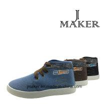 Estilo de moda de calzado casual para niños con inyección de PVC (JM2079-B)