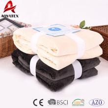 couvertures en molleton à bas prix dans la couverture en micromink de conception de maison en vrac avec sherpa