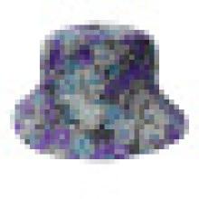 Chapéu de balde com tecido floral (BT072)