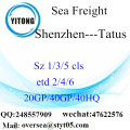 Shenzhen Port Sea Freight Shipping Para Tatus