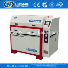 high pressure pump 60000psi intensifier pump water jet cut machine