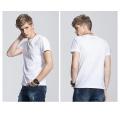 OEM barato venda plana 100% algodão camiseta