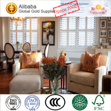 Hot Quality with Polymer of Stained Deroctive Basswood Plantation Shutter