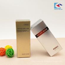 kundenspezifische kosmetische Papiergeschenkbox für die Parfümflascheverpackung