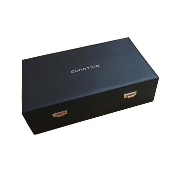 beautiful and durable watch leather wooden box
