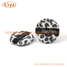 Hot Sale Leopard Cosmetic Puff In Different Shape