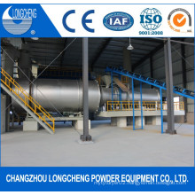 50tph Triple Drum Sand Dryer with Coal