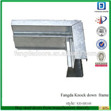 galvanized metal frame,galvanized steel door frame