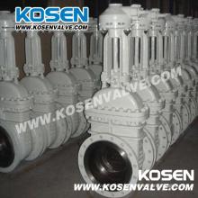API angeflanscht Cast Stahltor Ventil (Z540H)