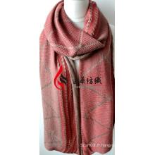 Châle en acrylique tricoté (12-BR201812-9)