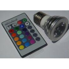 Hohe Qualität AC100-240v rgb LED-Scheinwerfer mit Fernbedienung 3w Scheinwerfer führte rgb