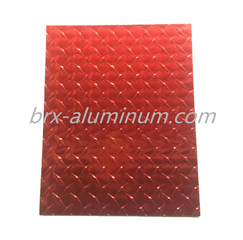 Anodized Aluminum Alloy Plate