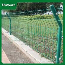 2015 новый продукт из проволочной сетки забор / двойной катушки забор сетки