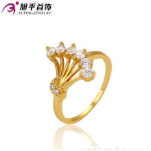 High Quality Xuping Fashion 24k Gold Plated Ring