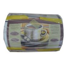 Película de aluminio del café / película plástica del café que empaqueta la película del rollo del café / del café
