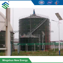 Enamel Steel Material Made Anaerobic Digestion Tank Assembled