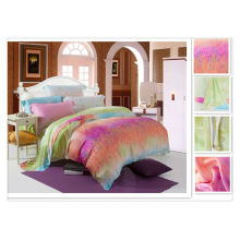 40 * 40s 133 * 72 Vente en gros Impression réactive Tencel Comforter Bed Design Sets