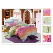 40 * 40s 133 * 72 Оптовые реактивные печати Tencel Утешитель Дизайн кровать наборы
