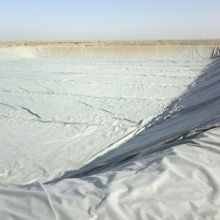 Polyester geotextile nonwoven road construction fabric