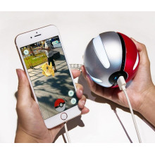 Smart RoHS Pokeball Power Bank 10000 mAh, benutzerdefinierte Pokemon Go Power Bank, Großhandel Mobile