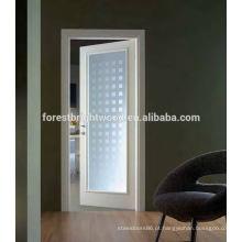 Porta interior de holandês de fibra de vidro madeira balançando