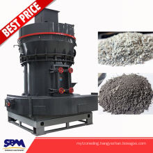 Famous SBM brand stone pulverizing machine, white calcite powder plant