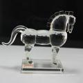 хрустального стекла лошадь статуэтка китайского зодиака кристалл животное