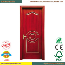 Double Wood Door Room Door Iron Door