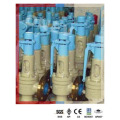 "Válvula de alívio manual de 2 ""para vapor superaquecido"